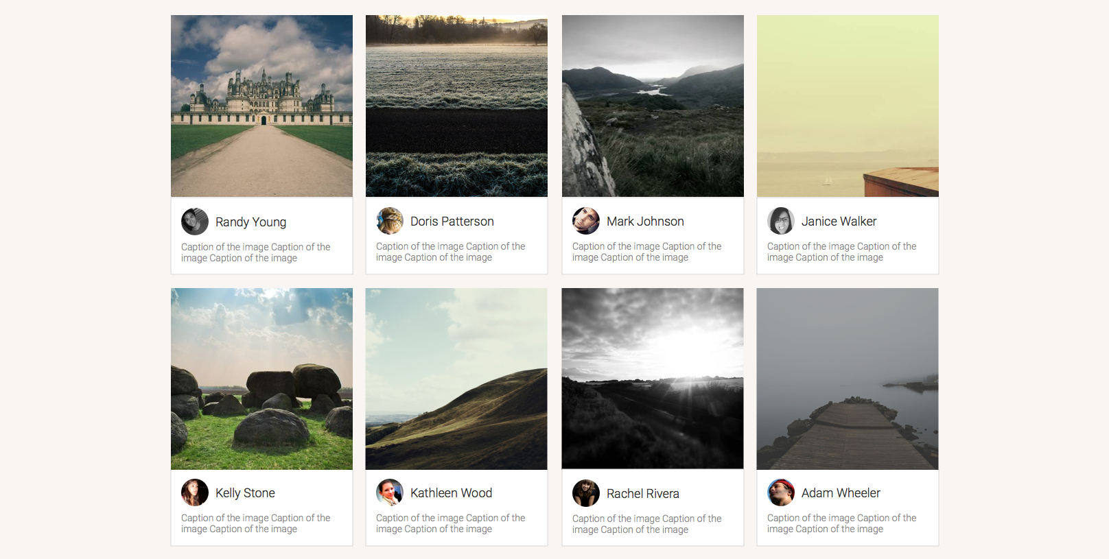 Embeddable gallery